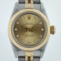 Rolex Oyster Perpetual Lady, 67193, Two Tone, Dia  Dial