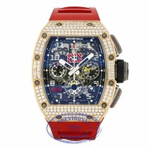 Richard Mille RM 011 Rose Gold and Titanium Diamonds