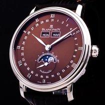 Blancpain Villeret 18kt. Weissgold Triple Date Mondphase...