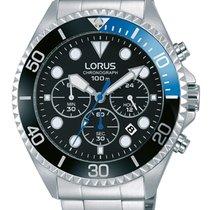 Lorus Steel 45mm Quartz RT315GX9 new