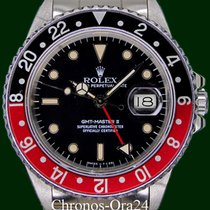 Rolex GMT-Master II 16760 Fat Lady Coke Bezel Mark II Sophia...