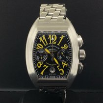 Franck Muller Steel 36mm Automatic 8001 pre-owned