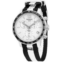 Tissot Quickster Silver Dial Nylon Strap Unisex Watch T0954171...