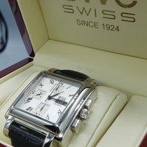 BWC-Swiss BWC Chronograph Square Autom. ETA Valjoux 7750,...