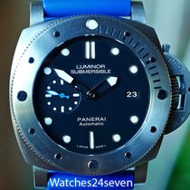Panerai Luminor Submersible 1950 3 Days Automatic pre-owned 47mm Black Date