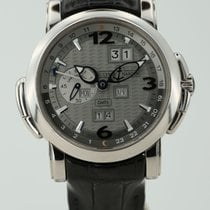 Ulysse Nardin 42mm Automatik 2009 gebraucht GMT +/- Perpetual