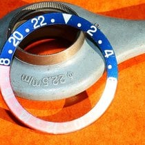 Rolex Faded Tutone PEPSI graduated insert GMT MASTER Fat font