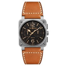 Bell & Ross BR 03-94 Chronographe Steel 42mm Brown United States of America, Florida, Miami
