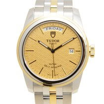 Tudor Glamour Date-Day 39mm Gold