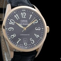 Oris Rose gold 40mm Automatic 637-7504-06-84 pre-owned