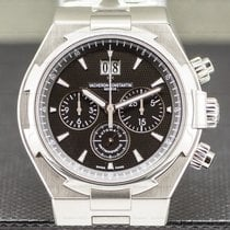 Vacheron Constantin Overseas Chronograph Steel 42mm Black United States of America, Massachusetts, Boston