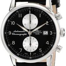 Zeno-Watch Basel Steel 42mm Automatic 6069BVD-d1 new
