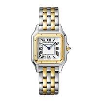 Cartier Gold/Stahl 27mm Quarz W2PN0007 neu