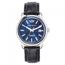 Philip Watch Steel 47mm Quartz R8251178008 new
