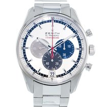 Zenith El Primero Chronograph Steel 42mm Silver United States of America, Georgia, Atlanta