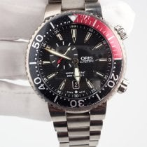 Oris Carlos Coste Limited Edition pre-owned 47mm Black Date Titanium