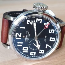 Zenith Pilot Type 20 GMT Steel Black Arabic numerals