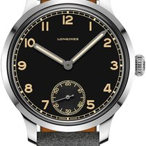 Longines Heritage Steel 43mm Black United States of America, New York, Airmont