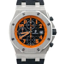 Audemars Piguet Royal Oak Offshore Chronograph Volcano Acero 42mm Negro Árabes