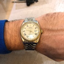 Rolex Datejust Acero y oro 36mm Plata Sin cifras España, cadiz