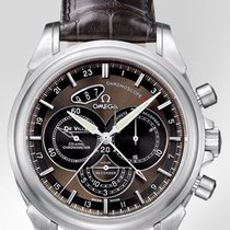 Omega De Ville Co-Axial Chronoscope GMT Mens  42213445213001