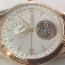 Jaeger-LeCoultre Red gold Automatic 42mm new Master Tourbillon