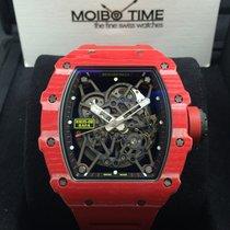 Richard Mille RM35-02 Rafael Nadal quartz TPT Qtpt Red [NEW]