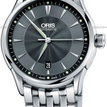 Oris Artelier Date Steel Black United States of America, New York, Brooklyn