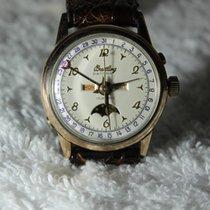 Breitling Datora triple date moonphase 244-26 Valjoux 89  Bj 1956