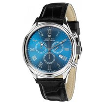 Louis XVI Chronograph 44mm Quartz new Blue