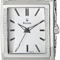 Bulova Men's  Diamond Case Watch 96E113