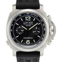 Panerai , Stainless Steel Automatic Automatic Split Seconds...