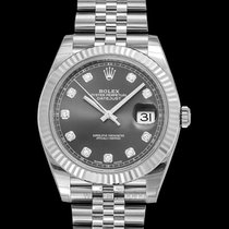 Rolex Steel Automatic Silver 41mm new Datejust