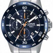 Lorus Steel 45mm Quartz RM391CX9 new