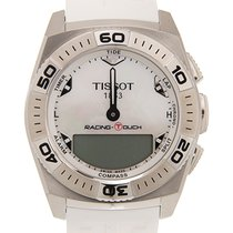 Tissot Racing-Touch Acero 46.3mm Blanco