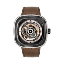 Sevenfriday Steel 47mm Automatic P2B/01 new United States of America, Texas, Houston