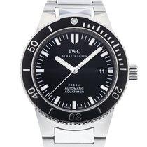 IWC Aquatimer Automatic 2000 pre-owned 42mm Black Date Steel