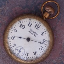 Westclox 1920 Vtg Style 1 Pocket Ben Dollar Watch Gold Plated...