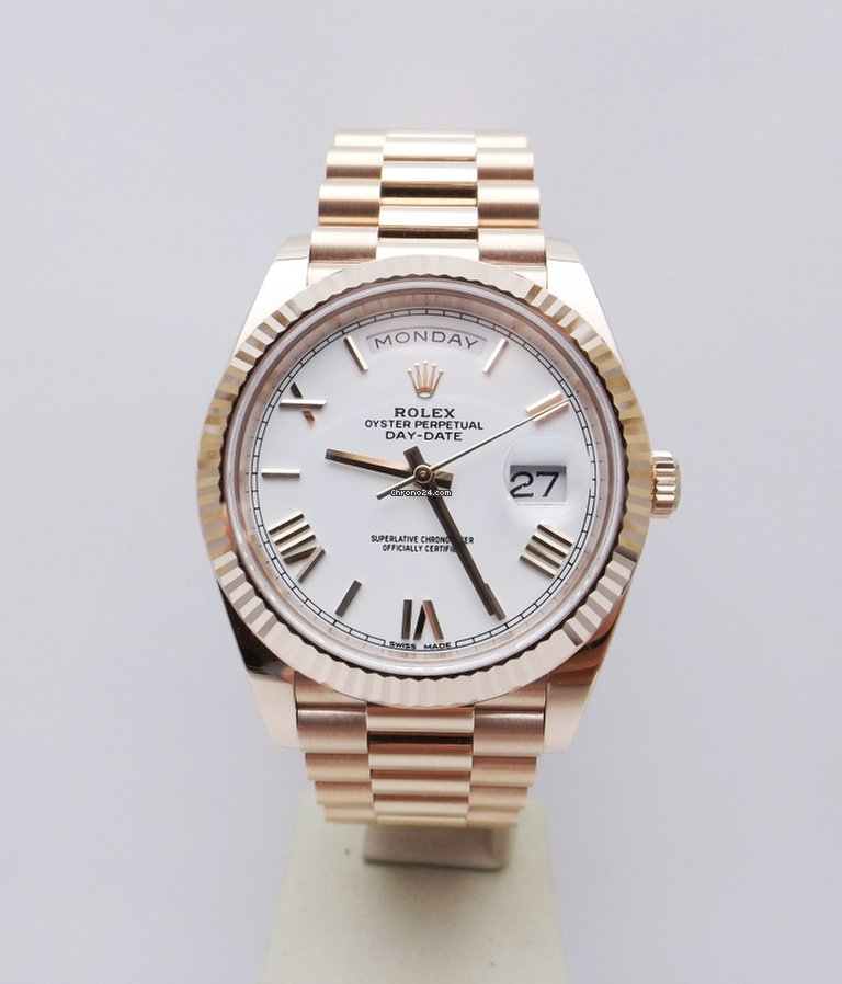 salvare e39fe 81a5a Rolex Day-Date ref. 228235 President Rose Gold 40mm like new