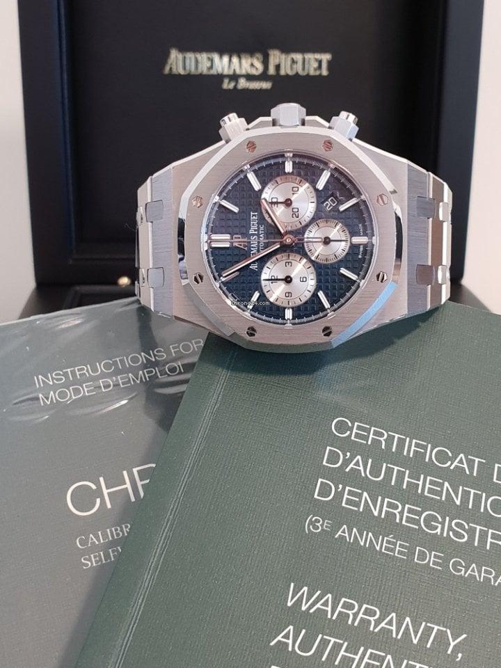 adc8225226e Relógios Audemars Piguet usados - Compare os preços de relógios Audemars  Piguet usados