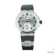 Ulysse Nardin 1183-126-3/61 Сталь Marine Chronometer Manufacture 43mm новые