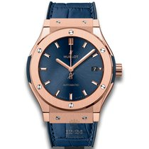 Hublot Red gold Automatic Blue 45mm new Classic Fusion Blue