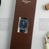 Patek Philippe Golden Ellipse Platinum 34.5mm Blue No numerals