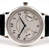 A. Lange & Söhne Platinum 36mm Manual winding 221.025 new