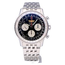 Breitling Navitimer 01 Steel 43mm Black No numerals