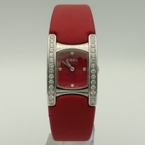 Ebel Steel Quartz Red 28mm pre-owned Beluga