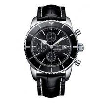 Breitling Superocean Héritage II Chronographe Acero 46mm Negro Sin cifras