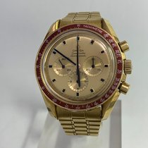 Omega Speedmaster Professional Moonwatch Gelbgold