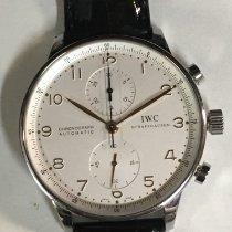 IWC Portuguese Chronograph Steel 41mm White Arabic numerals