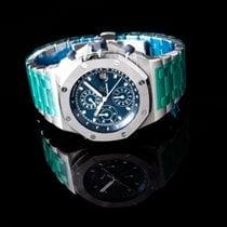 Audemars Piguet Steel Automatic Blue 42mm new Royal Oak Offshore Chronograph